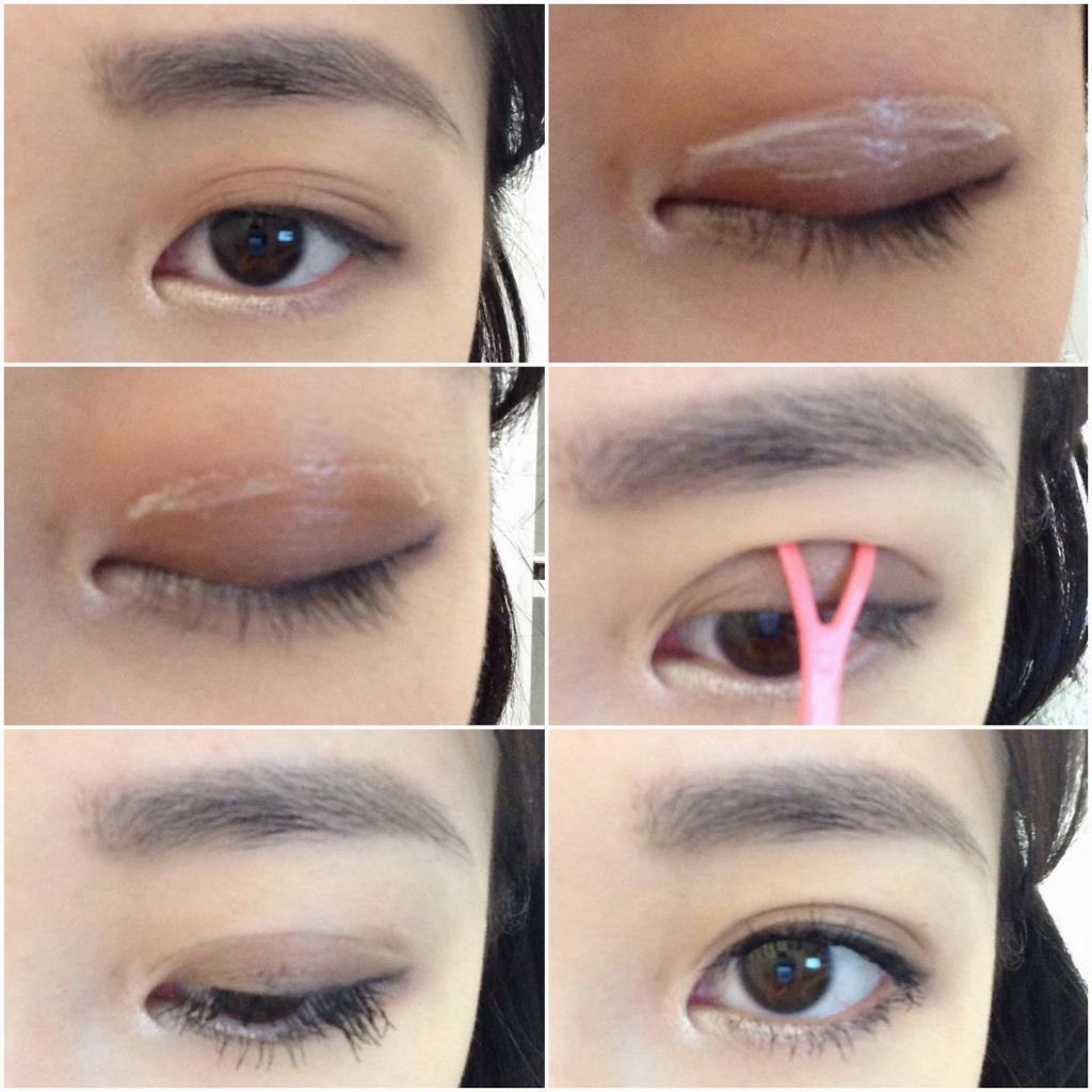 diy double eyelids