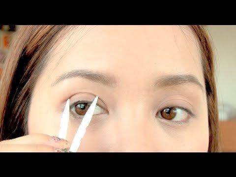 double eyelid size